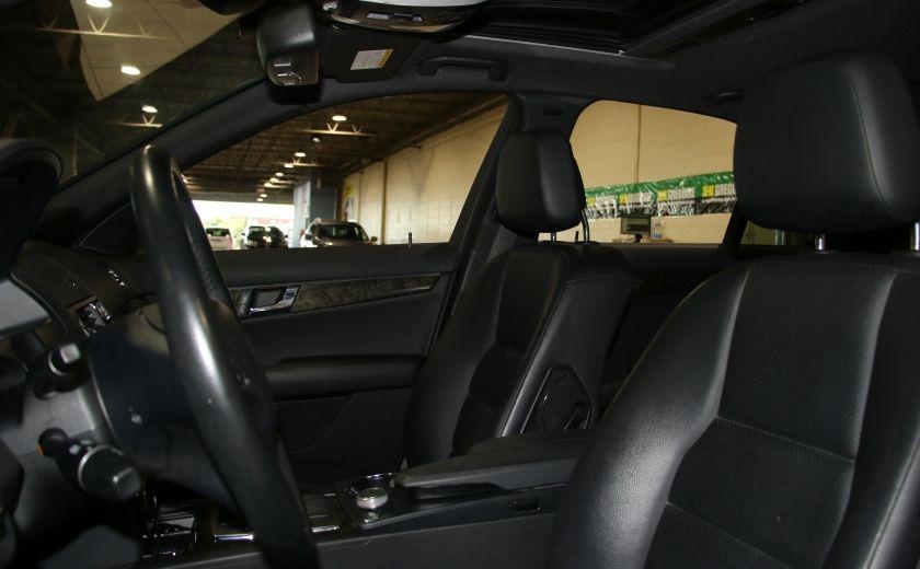 2009 Mercedes Benz C230 2.5L AUTO A/C CUIR TOIT MAGS #7