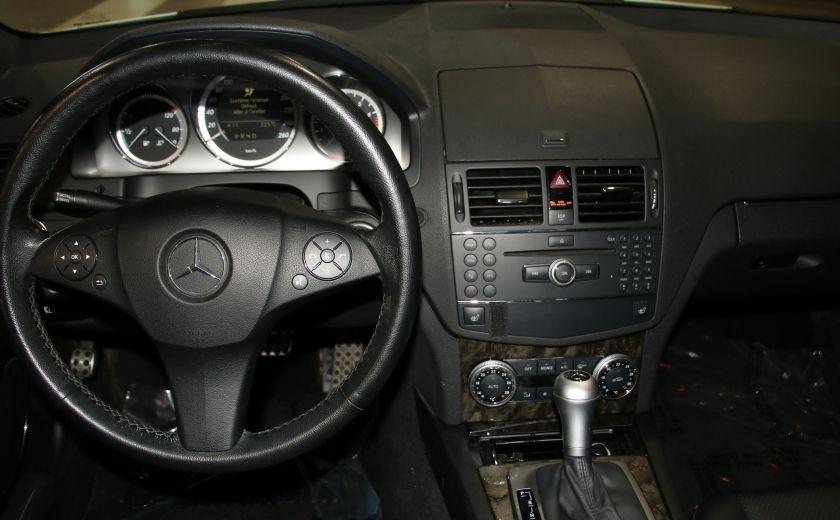 2009 Mercedes Benz C230 2.5L AUTO A/C CUIR TOIT MAGS #12