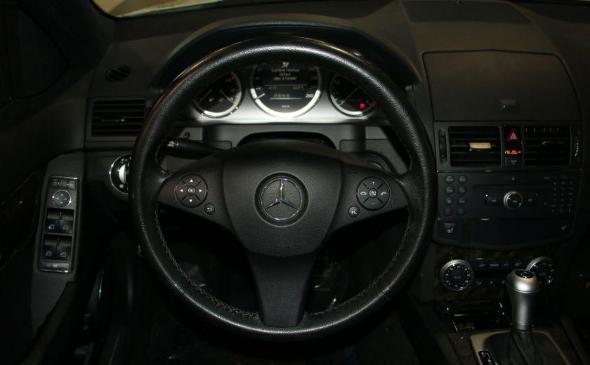2009 Mercedes Benz C230 2.5L AUTO A/C CUIR TOIT MAGS #13