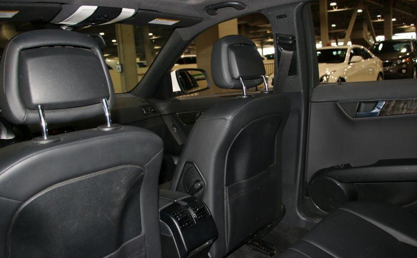 2009 Mercedes Benz C230 2.5L AUTO A/C CUIR TOIT MAGS #17