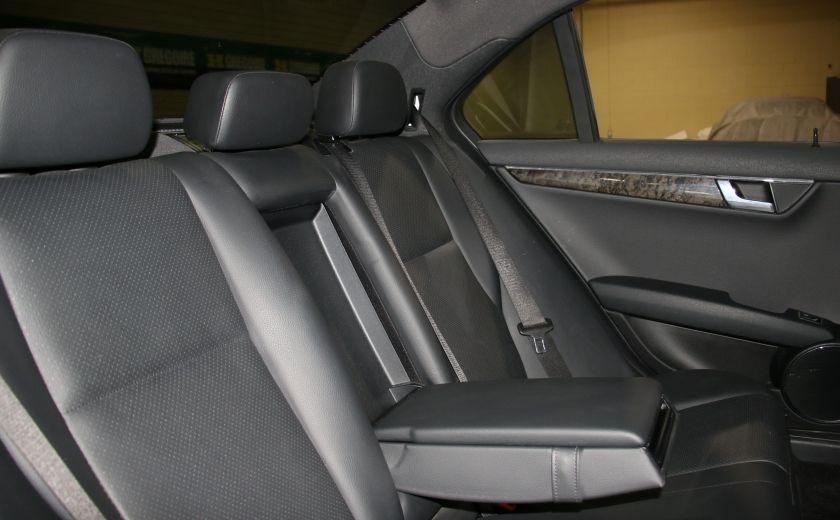 2009 Mercedes Benz C230 2.5L AUTO A/C CUIR TOIT MAGS #20