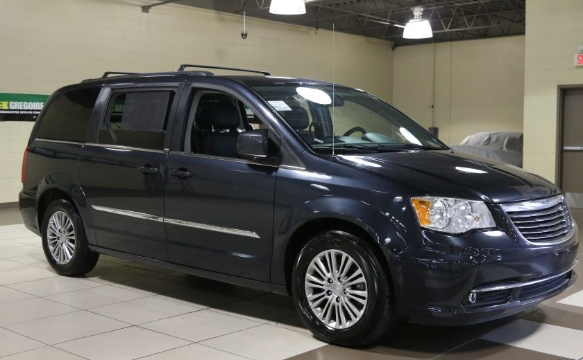 2014 Chrysler Town And Country TOURING L A/C CUIR STOW'N GO TV DVD #0