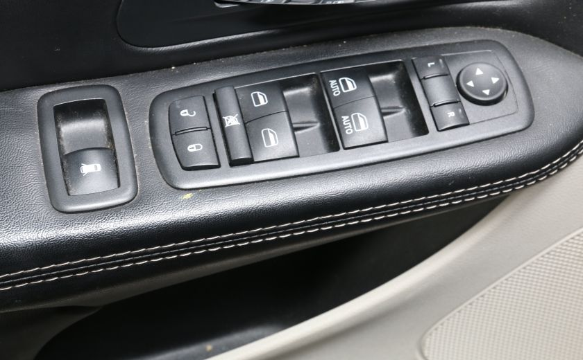 2014 Chrysler Town And Country Touring CAMERA DE RECUL HAYON ELECTRIQUE #8