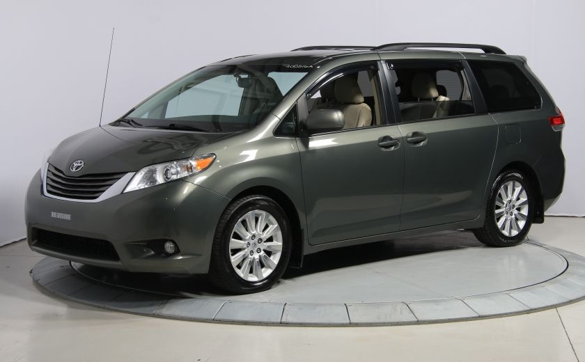 2012 Toyota Sienna XLE CUIR TOIT MAGS BLUETOOTH CAM.RECUL HAYON ÉLECT #2