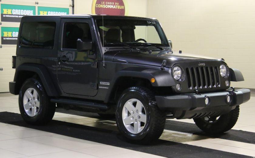 2014 Jeep Wrangler Sport #0