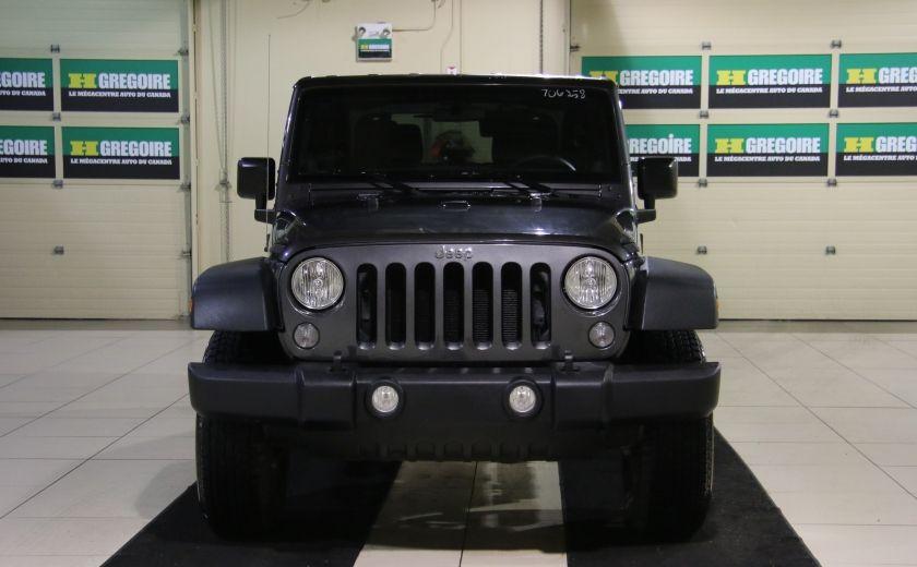 2014 Jeep Wrangler Sport #1
