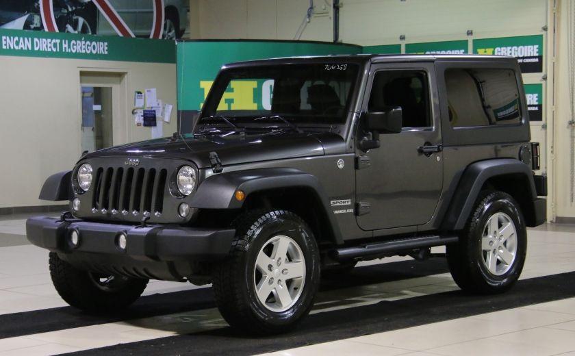 2014 Jeep Wrangler Sport #2