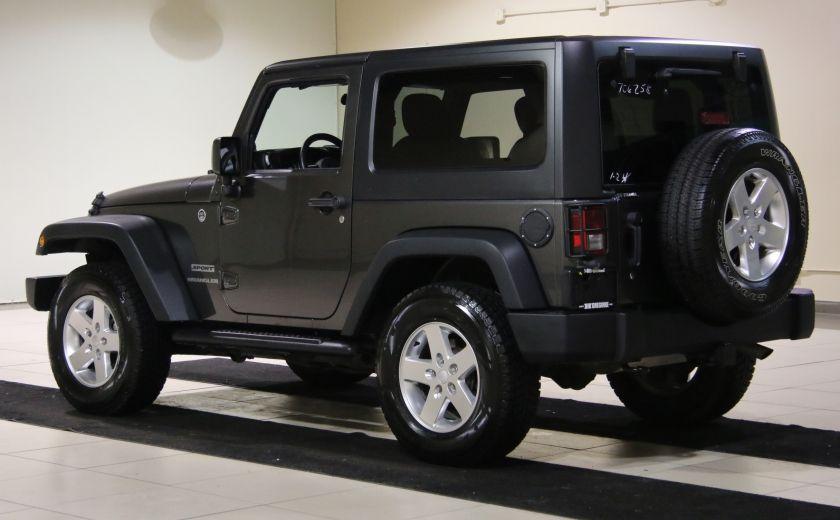 2014 Jeep Wrangler Sport #4