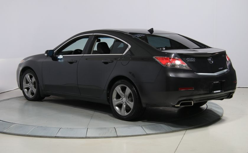 2012 Acura TL w/Tech  AWD AUTO CUIR TOIT NAVIGATION MAGS #4