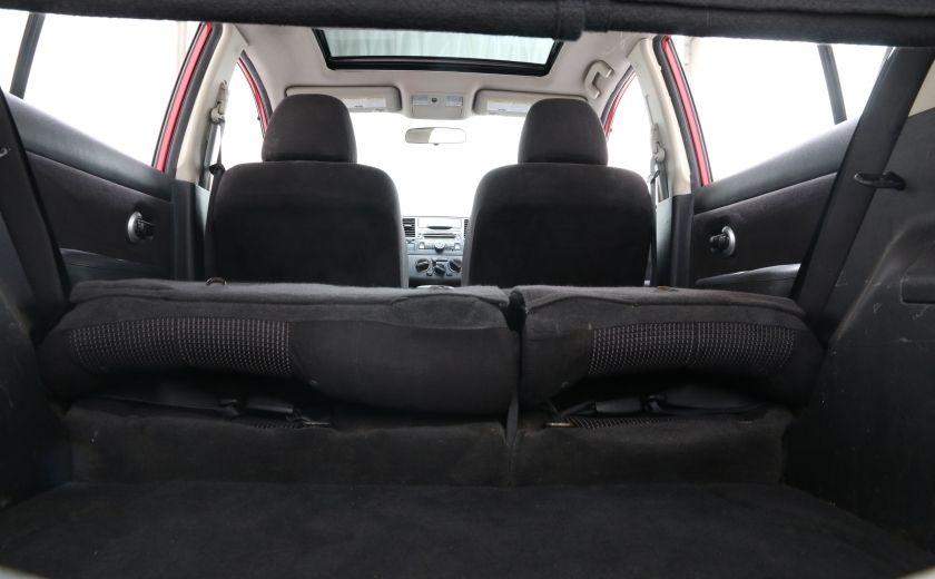 2011 Nissan Versa 1.8 SL A/C TOIT MAGS #23