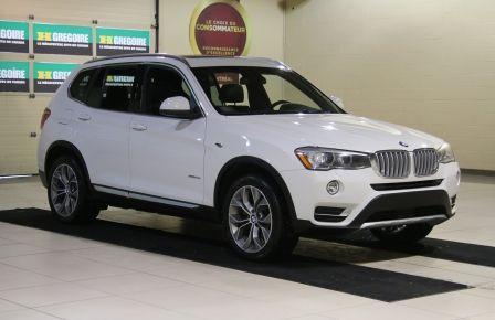 2016 BMW X3 xDrive CUIR TOIT PANO NAV MAGS à