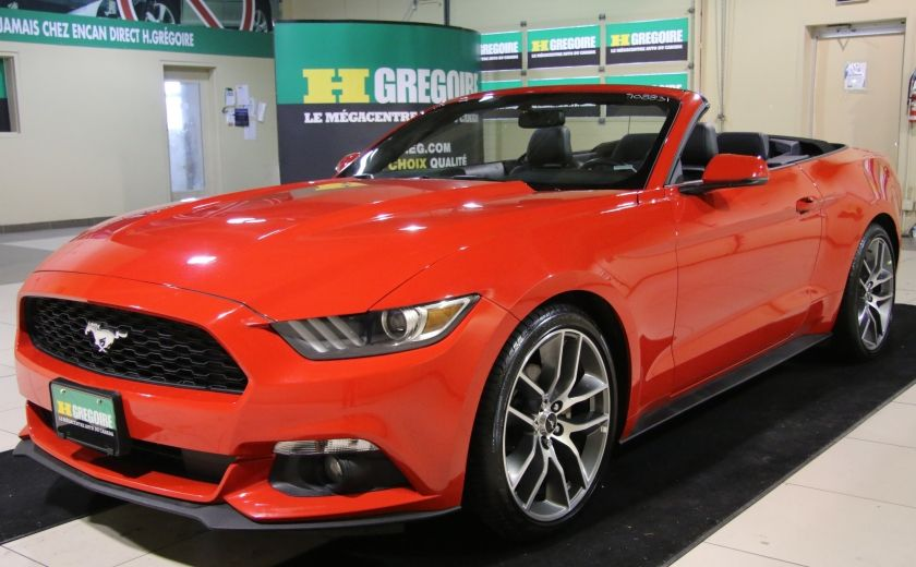 2015 Ford Mustang EcoBoost Premium CUIR TOIT MAGS BLUETOOTH #2