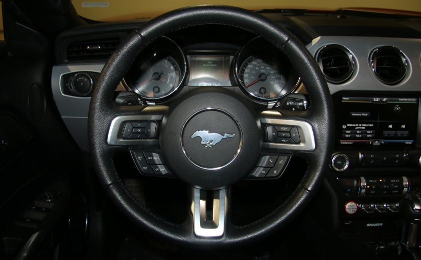2015 Ford Mustang EcoBoost Premium CUIR TOIT MAGS BLUETOOTH #19