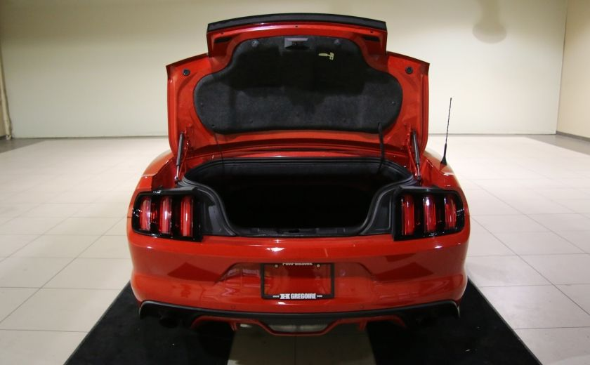 2015 Ford Mustang EcoBoost Premium CUIR TOIT MAGS BLUETOOTH #30