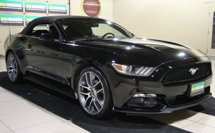 2015 Ford Mustang EcoBoost Premium CUIR TOIT MAGS BLUETOOTH #0