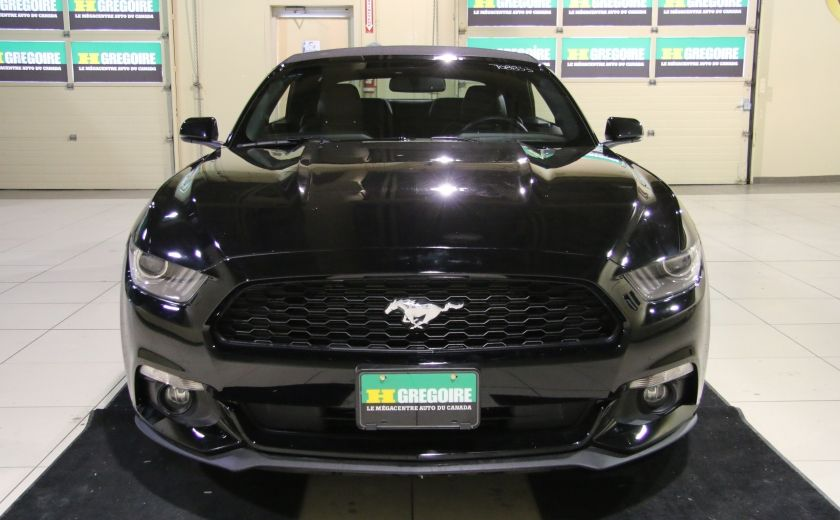 2015 Ford Mustang EcoBoost Premium CUIR TOIT MAGS BLUETOOTH #1