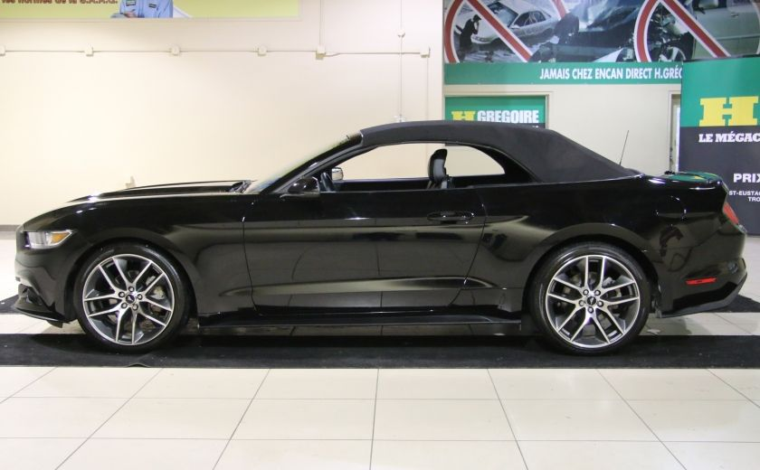2015 Ford Mustang EcoBoost Premium CUIR TOIT MAGS BLUETOOTH #3