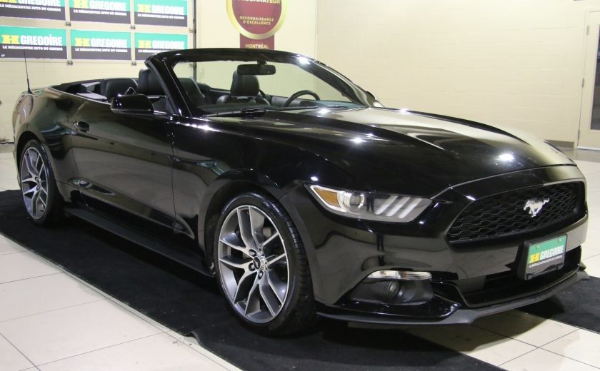 2015 Ford Mustang EcoBoost Premium CUIR TOIT MAGS BLUETOOTH #8