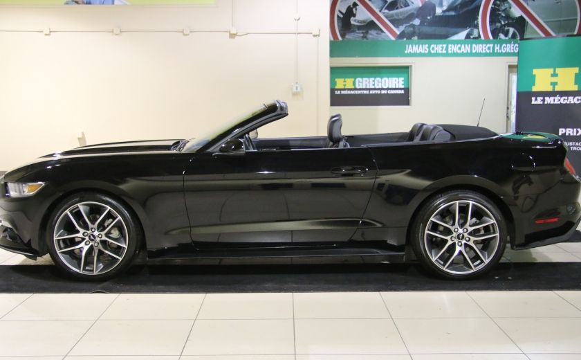 2015 Ford Mustang EcoBoost Premium CUIR TOIT MAGS BLUETOOTH #10