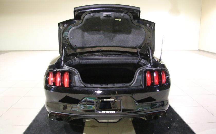 2015 Ford Mustang EcoBoost Premium CUIR TOIT MAGS BLUETOOTH #32