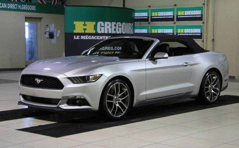 2015 Ford Mustang EcoBoost Premium CUIR TOIT MAGS BLUETOOTH #9