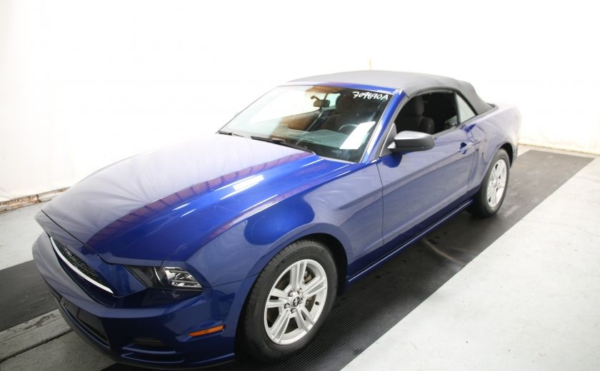 2014 Ford Mustang V6 Premium CONVERTIBLE #2