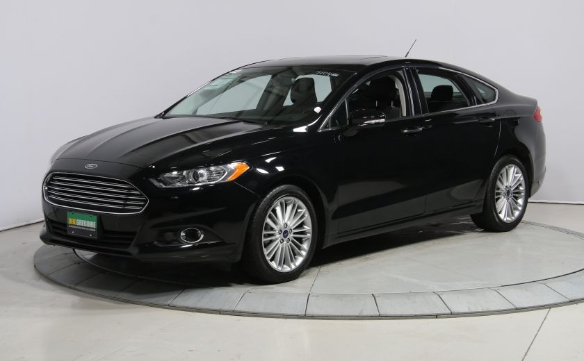 2016 Ford Fusion SE A/C CUIR TOIT MAGS #2