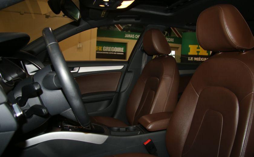 2013 Audi A4 2.0 TURBO AWD A/C CUIR TOIT MAGS #9