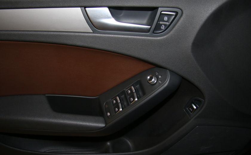 2013 Audi A4 2.0 TURBO AWD A/C CUIR TOIT MAGS #10