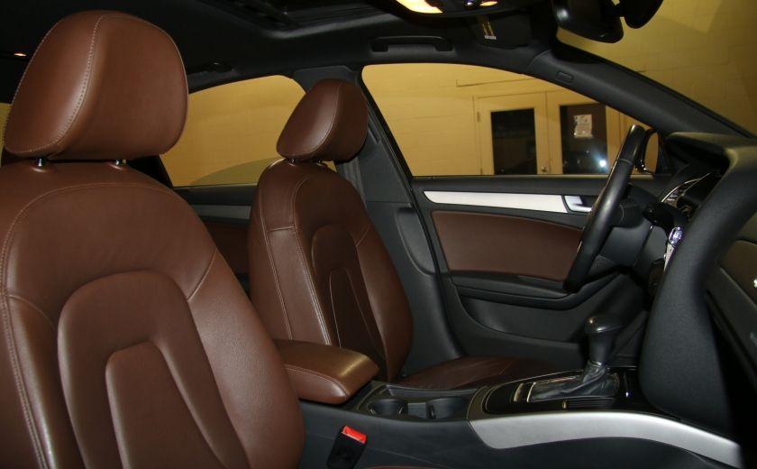 2013 Audi A4 2.0 TURBO AWD A/C CUIR TOIT MAGS #24