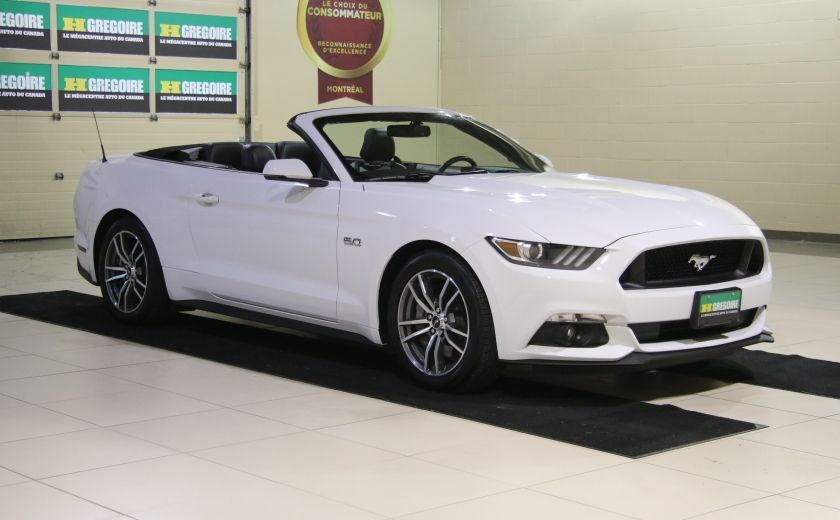 2015 Ford Mustang CONVERTIBLE GT PREMIUM AUTO A/C CUIR NAV #0