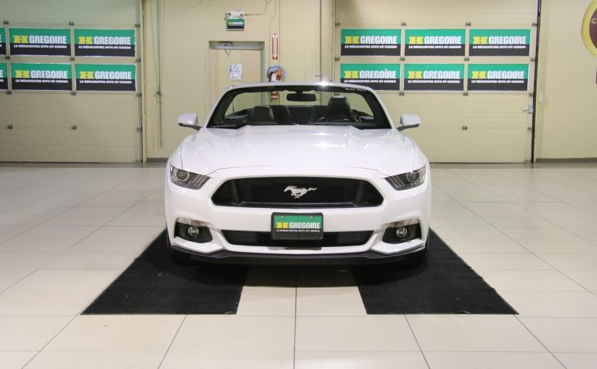 2015 Ford Mustang CONVERTIBLE GT PREMIUM AUTO A/C CUIR NAV #1