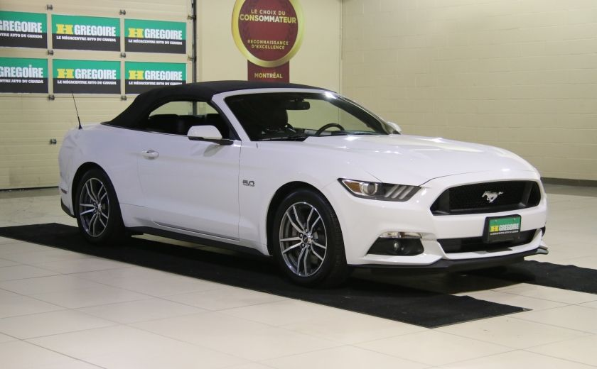 2015 Ford Mustang CONVERTIBLE GT PREMIUM AUTO A/C CUIR NAV #8