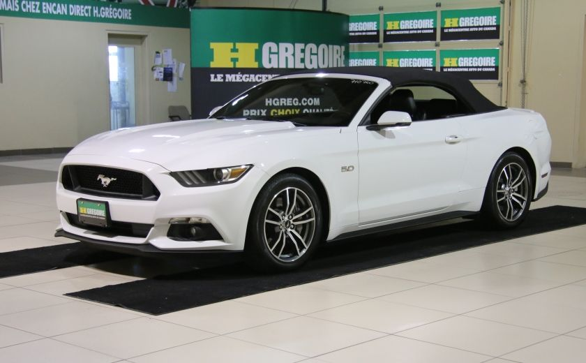 2015 Ford Mustang CONVERTIBLE GT PREMIUM AUTO A/C CUIR NAV #9