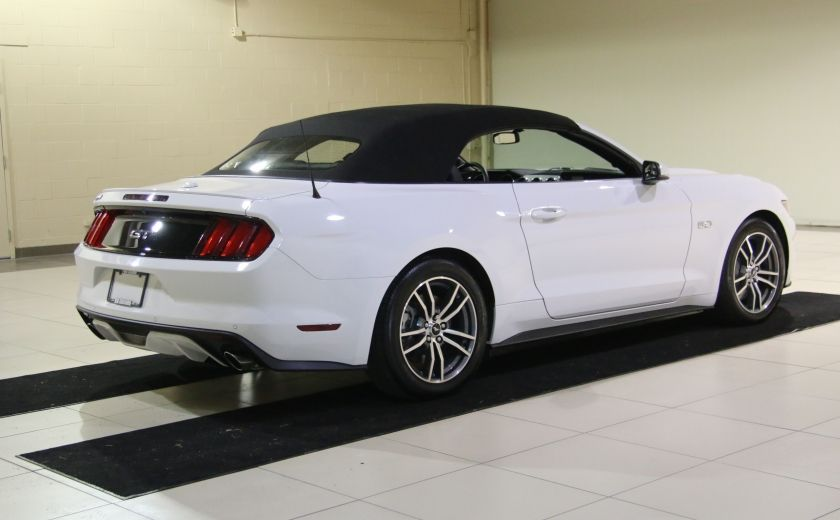 2015 Ford Mustang CONVERTIBLE GT PREMIUM AUTO A/C CUIR NAV #12