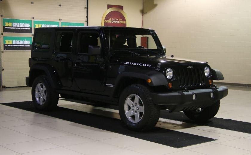 2012 Jeep Wrangler Rubicon 4WD TOIT NAV MAGS #0