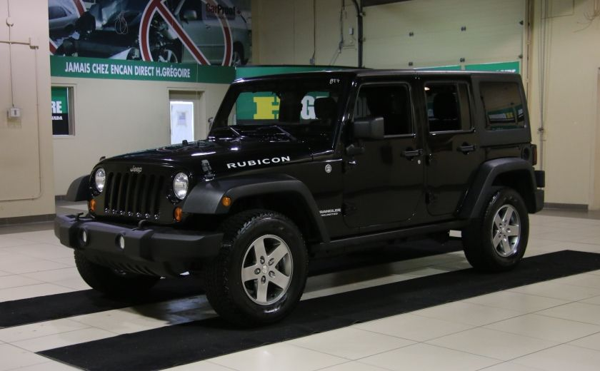2012 Jeep Wrangler Rubicon 4WD TOIT NAV MAGS #2