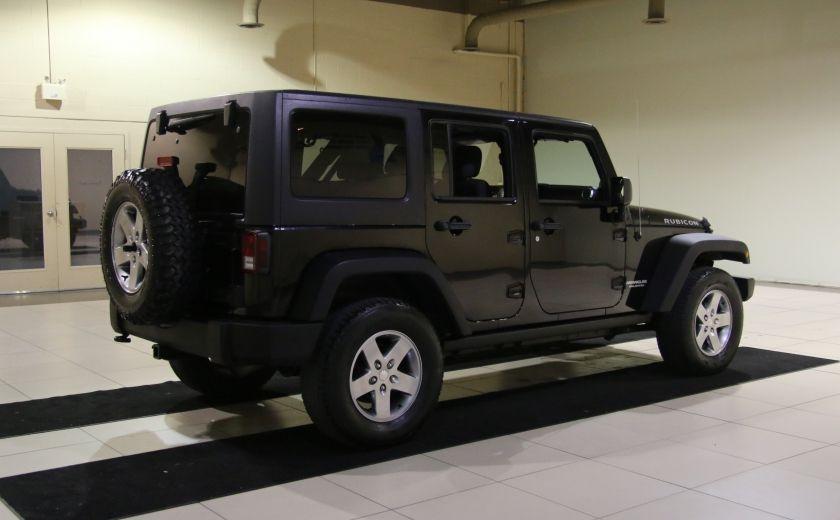 2012 Jeep Wrangler Rubicon 4WD TOIT NAV MAGS #6