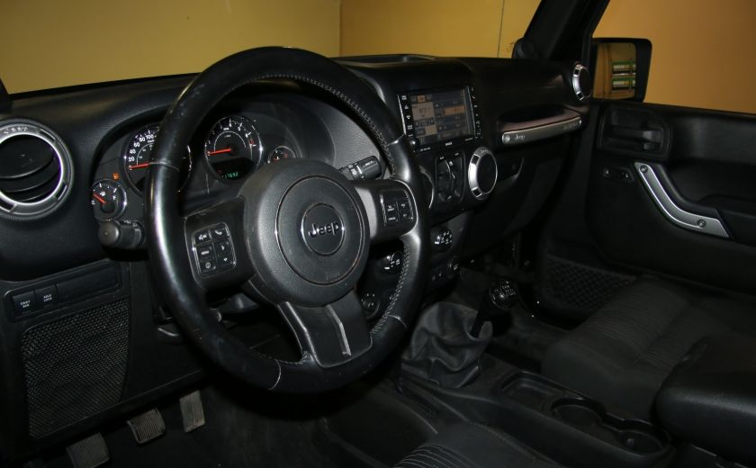 2012 Jeep Wrangler Rubicon 4WD TOIT NAV MAGS #8