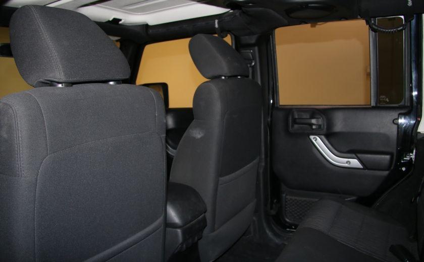 2012 Jeep Wrangler Rubicon 4WD TOIT NAV MAGS #20