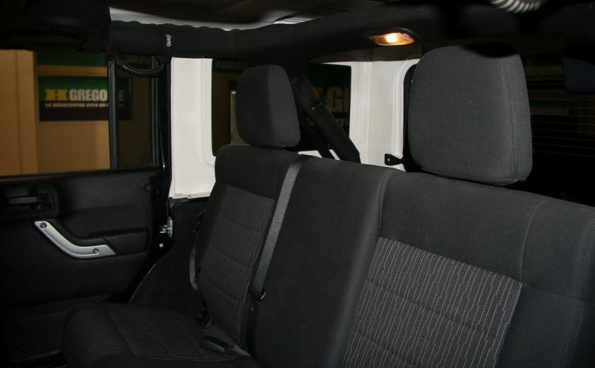2012 Jeep Wrangler Rubicon 4WD TOIT NAV MAGS #21