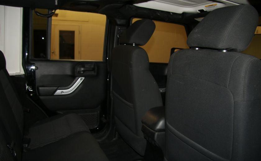 2012 Jeep Wrangler Rubicon 4WD TOIT NAV MAGS #22