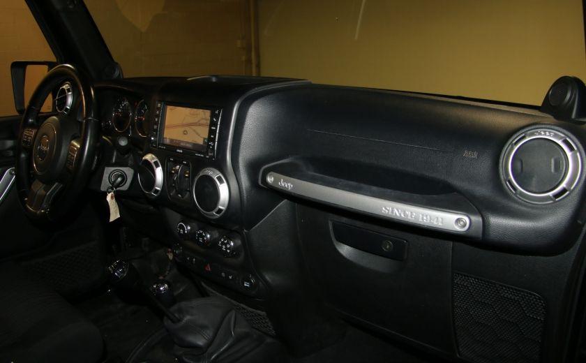 2012 Jeep Wrangler Rubicon 4WD TOIT NAV MAGS #24