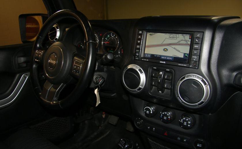 2012 Jeep Wrangler Rubicon 4WD TOIT NAV MAGS #25