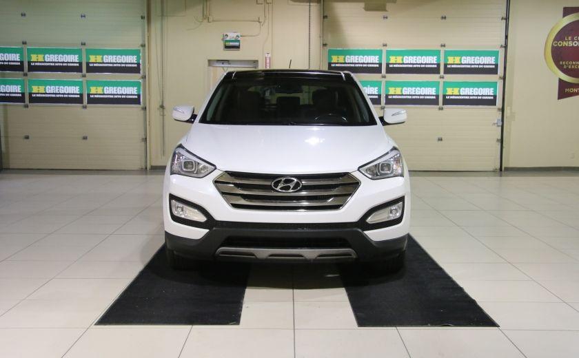 2013 Hyundai Santa Fe SE AWD CUIR TOIT PANO CAMERA RECUL #1