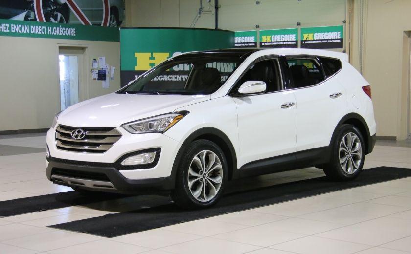 2013 Hyundai Santa Fe SE AWD CUIR TOIT PANO CAMERA RECUL #2