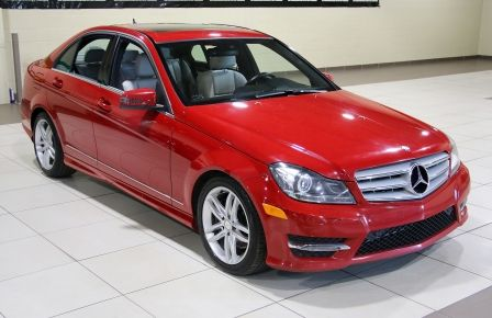2013 Mercedes Benz C300 AWD A/C CUIR MAGS TOIT in Blainville