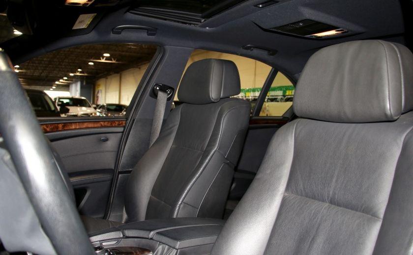 2010 BMW 535I xDrive AWD CUIR TOIT NAV MAGS #9