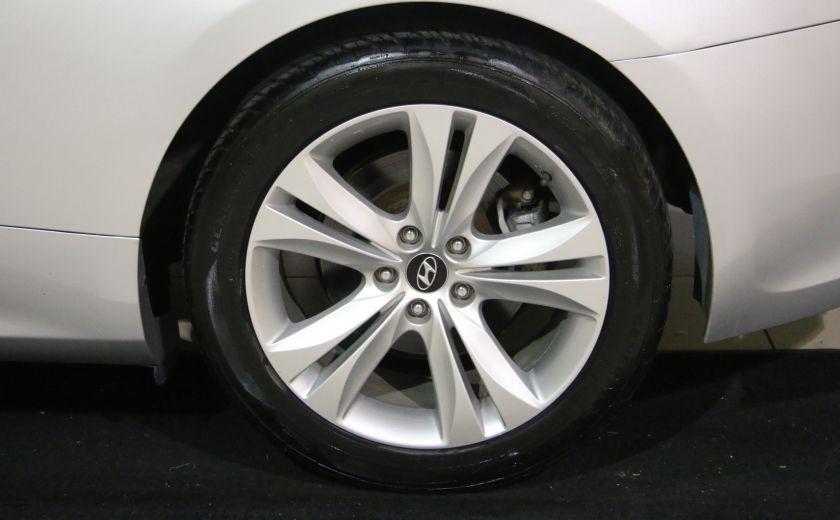 2010 Hyundai Genesis 2dr I4 Auto AUTOMATIQUE A/C MAGS BLUETHOOT CUIR #27