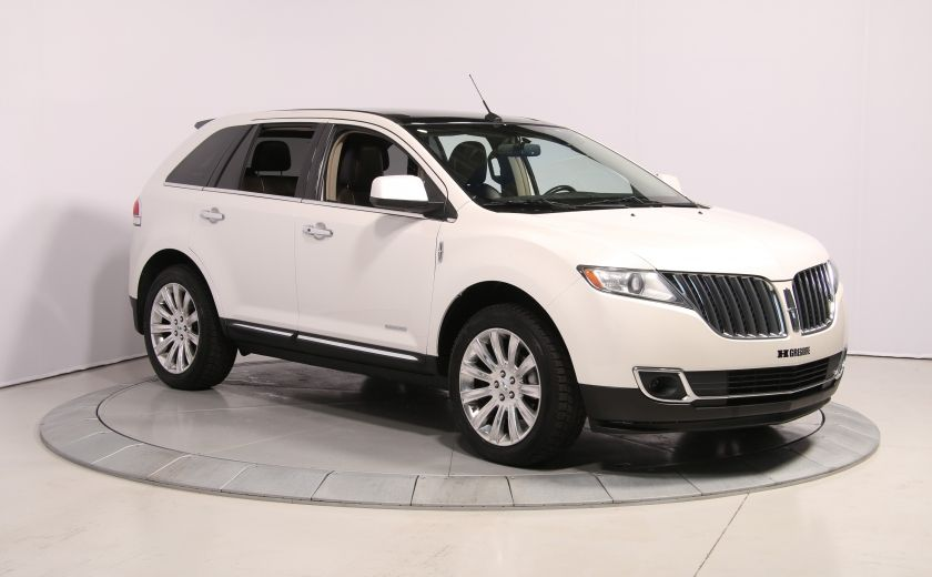 2011 Lincoln MKX AWD AUTO A/C CUIR TOIT MAGS BLUETOOTH #0